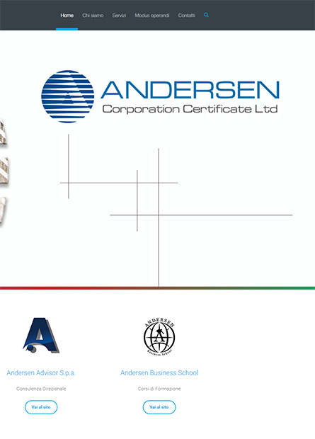 ANDERSEN CORPORATION CERTIFICATE LTD